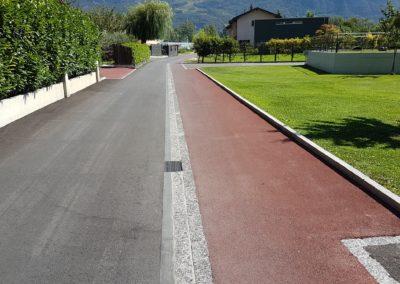 Fully – Réfection chemin de Pré-Fleuri
