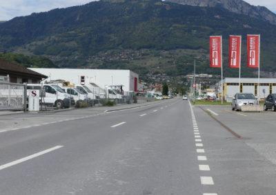 Monthey-Massongex – Route des Ilettes